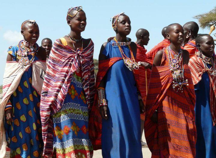 Autor tonda hrabica masajské ženy
